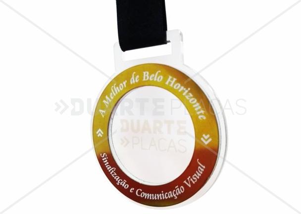 Medalha Acrílica